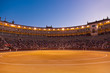 Bullfighting arena corrida at Madrid Spain