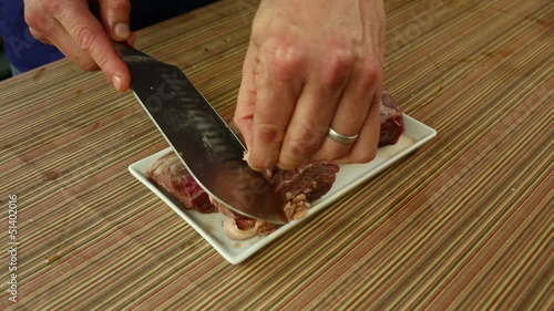 Removing Fat from Steak Tenderloins