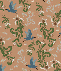 vintage background, pattern