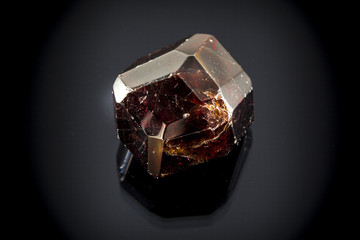Garnet Faceted Crystal