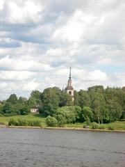 church by the River Volga