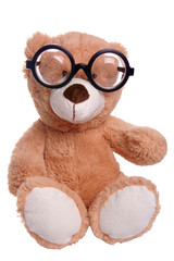 Teddy with glasses