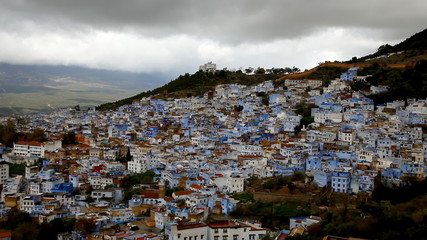 Chefchaouen blue town, Morocco.