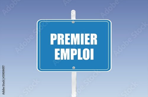 panneau premier emploi