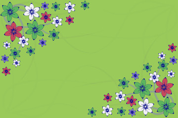 çiçekli zarf 2