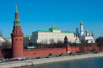 Kremlin in Moscow, Russia. landmark