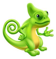Cartoon Chameleon