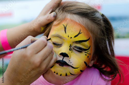 Face painting - 51406091