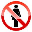 No woman icon