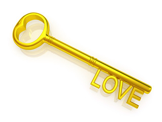 key to love