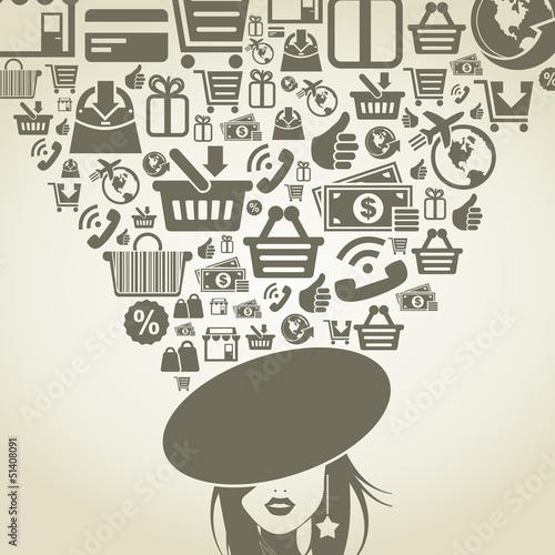 Girl shop