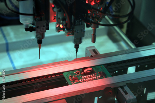 Control of printed circuit boards