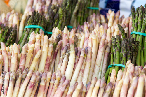 Asparagus for sale at a market