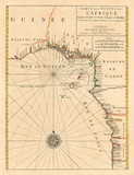 Vintage nautical map