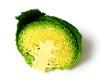 Savoy cabbage cut