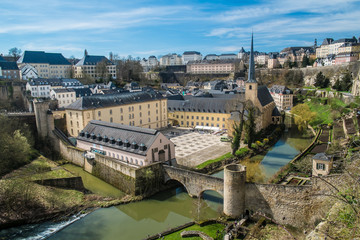 Luxembourg Neumünster abbey