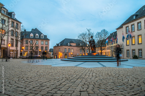 Place de Clairefontaine in Luxembourg