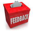 Feedback Suggestion Box Collecting Thoughts Ideas