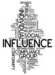 "Word Cloud ""Influence"""