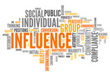 "Word Cloud ""Influence"""