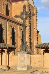 Croix de l'église de Odenas, (Beaujolais, France)