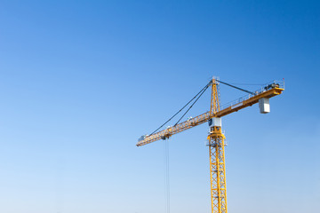 crane on an indutrial site