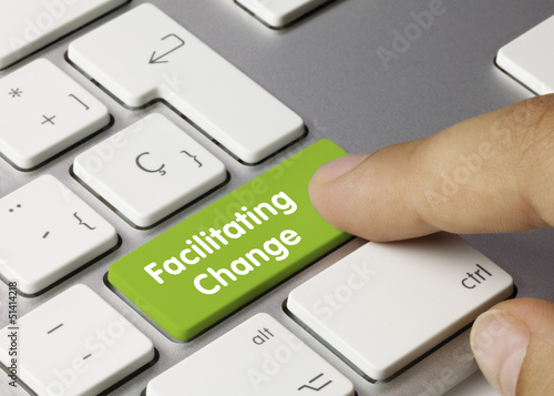 Facilitating change keyboard