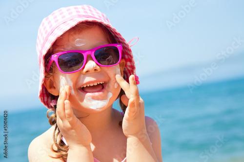 Leinwanddruck Bild Sun Protection
