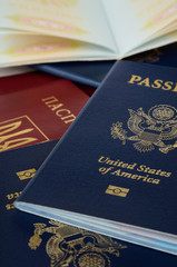 Opened and closed and passports