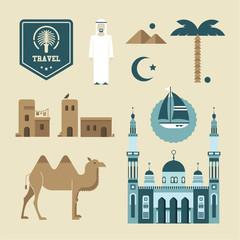 Arabic icons