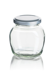 Bauchiges Vorratsglas