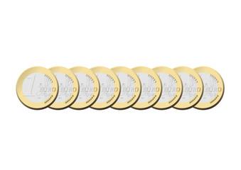 Euros et argent
