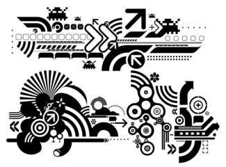 Techno elemetnts 412