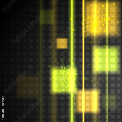 Glowing technology vector design