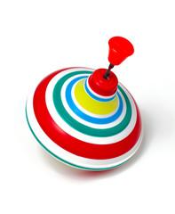 whirligig for children isolated on white background