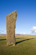 Ancient standing stone, Orkney