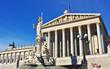 Austrian Parliament building in Vienna