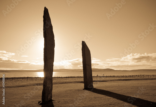 Stenness at sunset