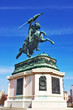 Statue of Archduke Charles at the Heroes square Vienna