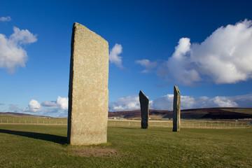Prehistoric standing stones, Orkney