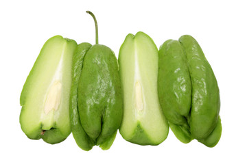 Slices of Chayote