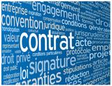 Nuage de Tags CONTRAT (accord signature conditions générales)