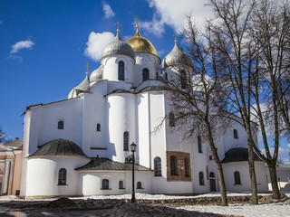 Saint Sophia Cathedral in Novgorod