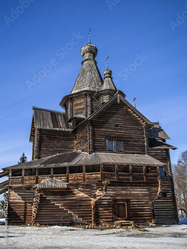 Wooden Church of Nativity of Virgin, 16th centry