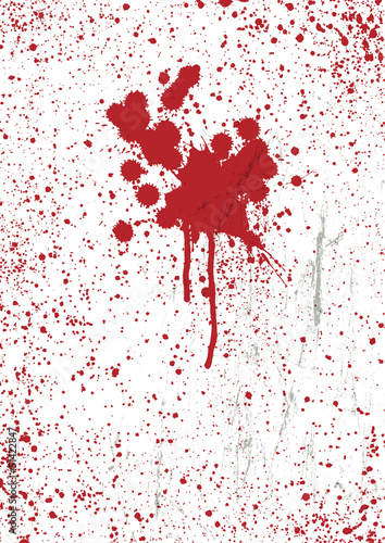 Blood stains texture background, vector.