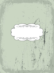 Vintage styled background. Vector