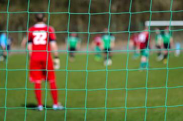 Fußball Amateurliga Spielszene - Soccer Game