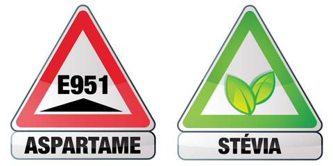 aspartame et stévia