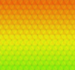 Geometric background - symmetry 120