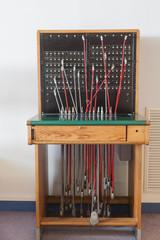 Antigua centralita telefónica